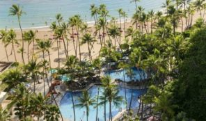 Hilton Grand Vacations Hawaiian Village Swimming Pool