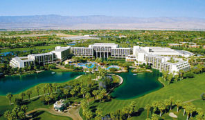 Marriott Desert Springs Villas II Aerial View