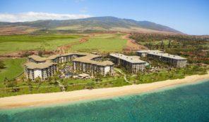 Westin Kaanapali Ocean Resort Villas Aerial View