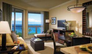 Westin Ka'anapali Ocean Resort Villas North Living Area