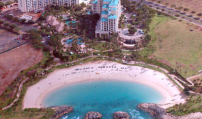 Marriott Ko Olina Beach Club Aerial View