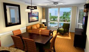 Westin Princeville Ocean Resort Villas Living and Dining Areas