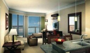 Westin Ka'anapali Ocean Resort Villas North Dining and Living Area