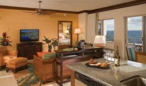Marriott Maui Ocean Club-Lahaina and Napili Villas Living Area