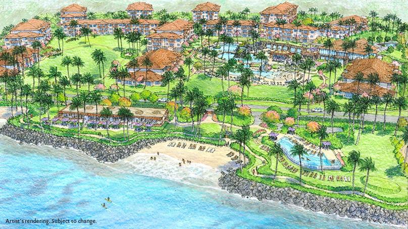 Hilton Grand Vacations Club announces first Hilton Resort on Maui